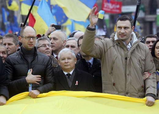 Ярослав Качиньский в Киеве